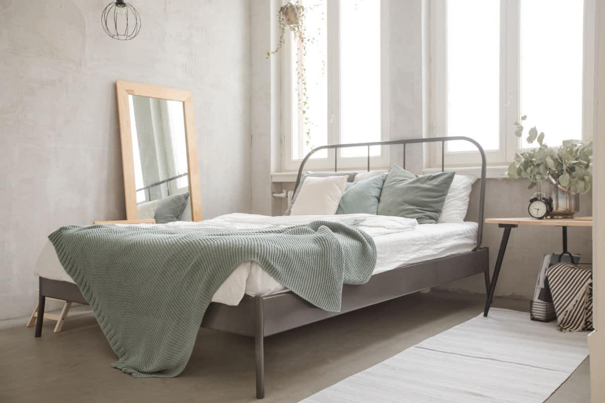 Kleine slaapkamer verven